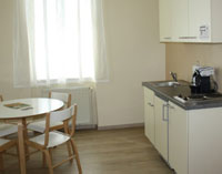 Appartement 40m² (2-3 Personen)